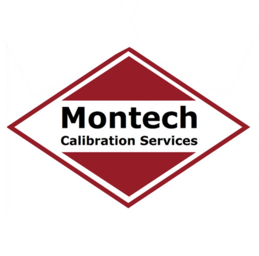 Montech Red and White Logo