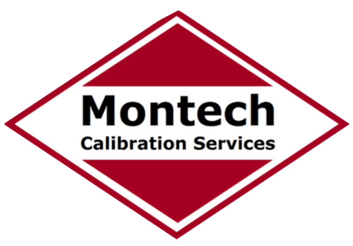 Montech Red and White Logo PNG